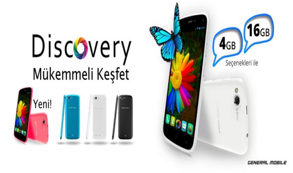 General Mobile Discovery özellikleri