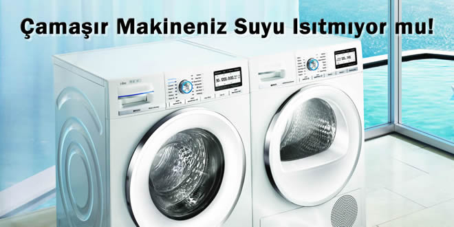 Çamaşır Makinesi Yıkama Suyu Problem ve Çözümleri
