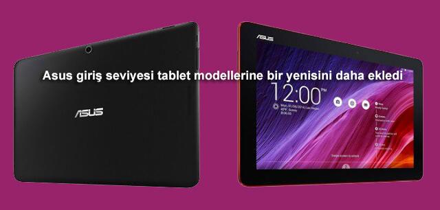 Asus giriş seviyesi tablet modellerine bir yenisini daha ekledi !