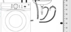 Çamaşır Makinesi Boşaltma Hortumu