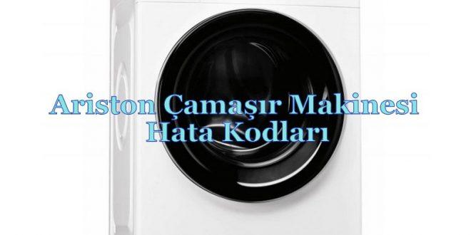 Ariston Çamaşır Makinesi Hata Kodları