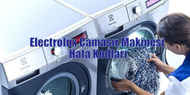 Electrolux Çamaşır Makinesi Hata Kodları