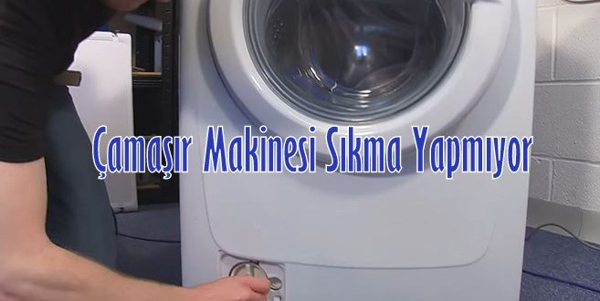 Çamaşır Makinesi Sıkma Yapmıyor Çözüm Ve Arızaları