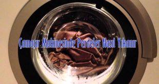 Çamaşır Makinesinde Perdeler Nasıl Yıkanır