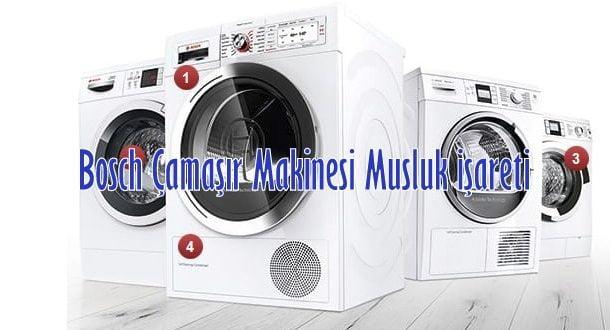 Bosch Çamaşır Makinesi Musluk İşareti