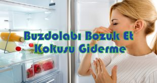Buzdolabı Bozuk Et Kokusu Giderme