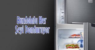 Buzdolabı Her Şeyi Donduruyor