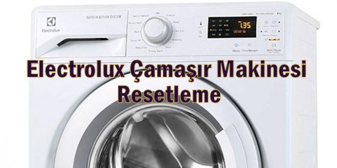 Electrolux Çamaşır Makinesi Resetleme