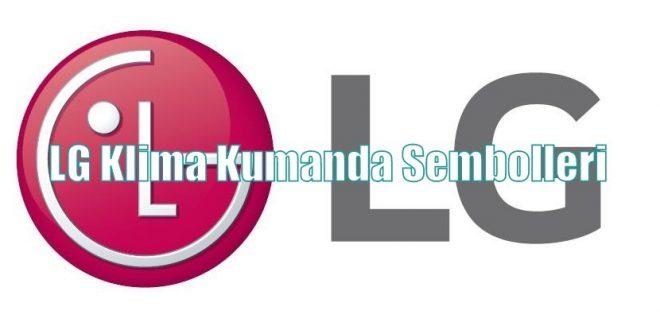 LG Klima Kumanda Sembolleri