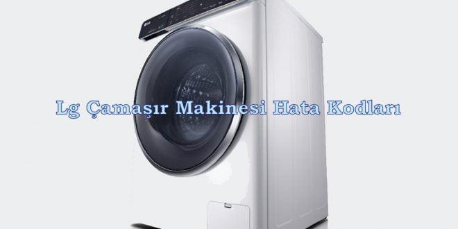 Lg Çamaşır Makinesi Hata Kodları