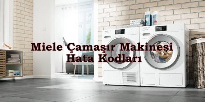 Miele Çamaşır Makinesi Hata Kodları