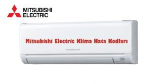 Mitsubishi Electric Klima Hata Kodları