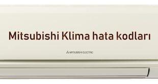 Mitsubishi Klima hata kodları