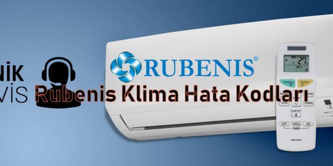 Rubenis Klima Hata Kodları