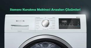 Siemens Kurutma Makinesi Arızaları Çözümleri