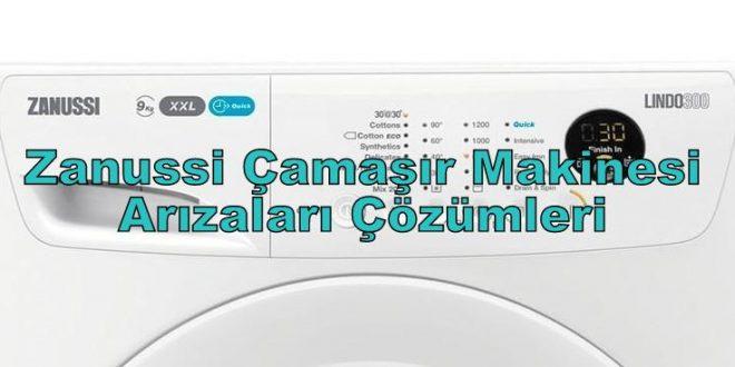 Zanussi Çamaşır Makinesi Arızaları Çözümleri