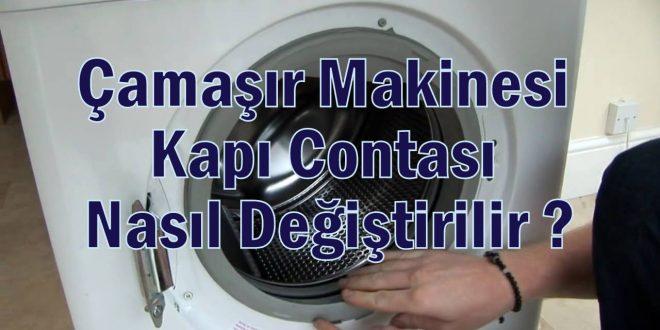 Çamaşır Makinesi Kapı Contası Nasıl Değiştirilir