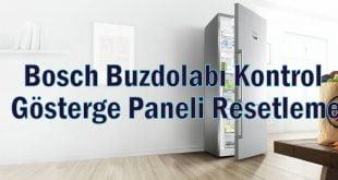 Bosch Bulaşık Makinesi Resetleme