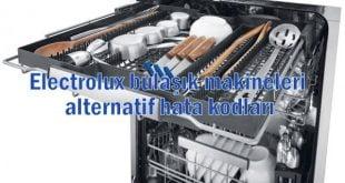 Electrolux bulaşık makineleri alternatif hata kodları