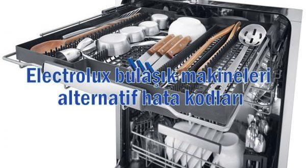 Electrolux Bulaşık Makinesi Hata Kodları