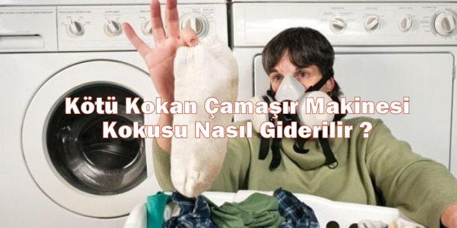 Kötü Kokan Çamaşır Makinesi Kokusu Nasıl Giderilir