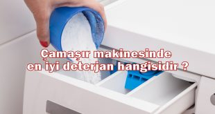 Çamaşır makinesinde en iyi deterjan hangisidir