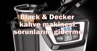 Black & Decker kahve makinesi