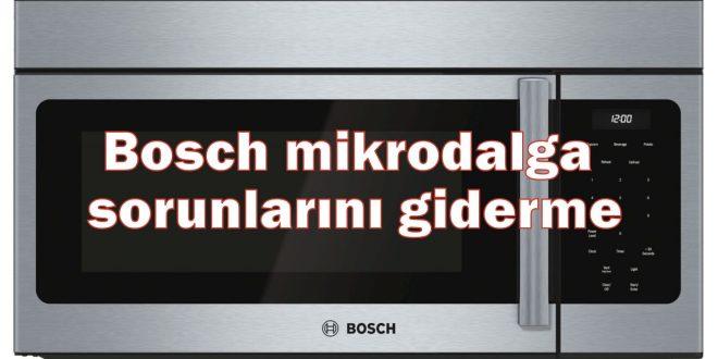 Bosch mikrodalga