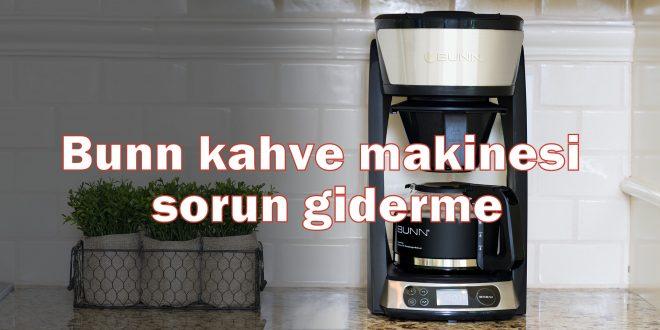 Bunn kahve makinesi