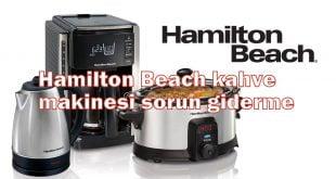 Hamilton Beach kahve makinesi