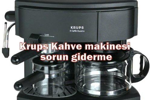 Krups Kahve makinesi