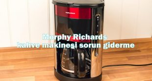 Morphy Richards kahve makinesi