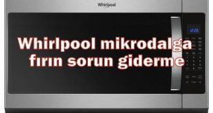 Whirlpool mikrodalga fırın