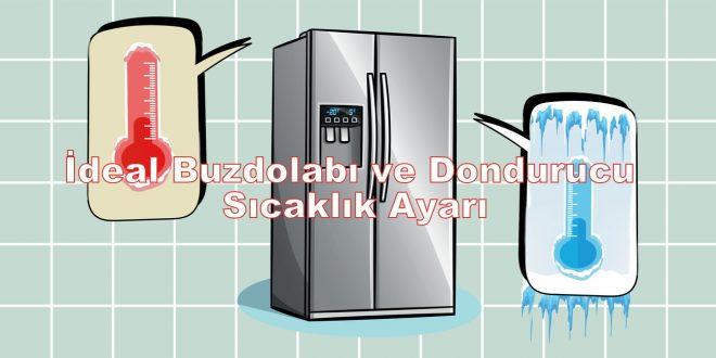 İdeal Buzdolabı Sıcaklık Ayarı