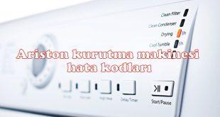 Ariston kurutma makinesi hata kodları