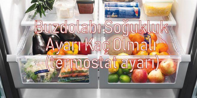 Buzdolabı Soğukluk Ayarı Kaç Olmalı