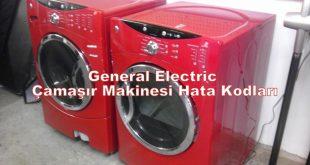 General Electric Çamaşır Makinesi Hata Kodları
