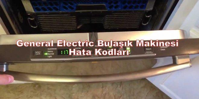 General Electric Bulaşık Makinesi Hata Kodları
