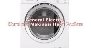 General Electric Kurutma Makinesi Hata Kodları