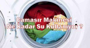 Çamaşır Makinesi Ne Kadar Su Kullanıyor