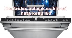 Electrolux bulaşık makinesi hata kodu i60