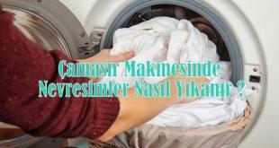 Çamaşır Makinesinde Nevresimler Nasıl Yıkanır