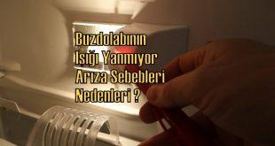 Buzdolabı Işığı Yanmıyor Arıza Sebepleri