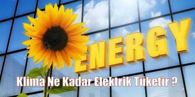 Klima Ne Kadar Elektrik Tüketir