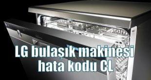 LG bulaşık makinesi hata kodu CL