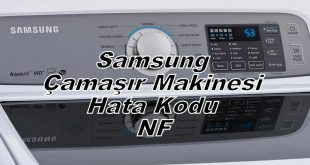 Samsung Çamaşır Makinesi Hata Kodu NF