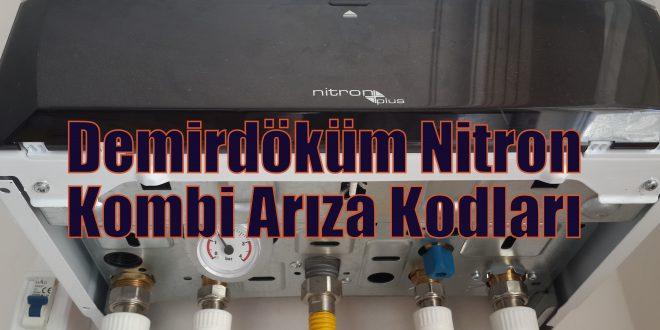 Demirdöküm Nitron Kombi Arıza Kodları