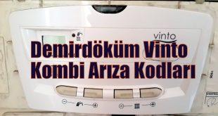 Demirdöküm Vinto Kombi Arıza Kodları