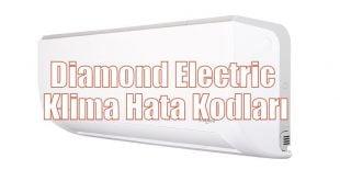 Diamond Electric Klima Hata Kodları