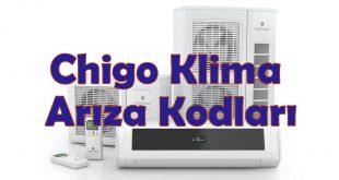 Chigo Klima Hata Kodları